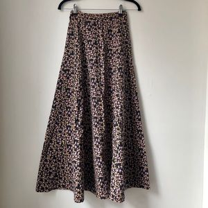 Dresses & Skirts - Handmade thick cotton floral skirt